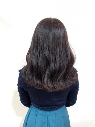 アディクシーカラーサファイアで作る透明感カラー☆高田馬場 美容室 酸熱 髪質改善トリートメント