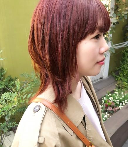 ピンクオレンジカラー☆