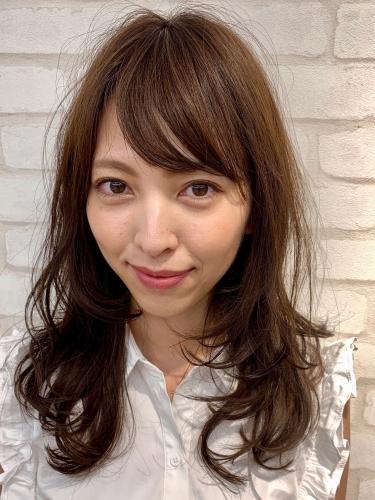 毛先ワンカールのレイヤースタイル♪荻窪 美容室 arc by neolive