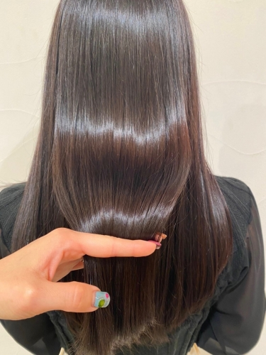 艶髪スタイル♪酸熱トリートメント☆高田馬場 美容室 酸熱 髪質改善トリートメント
