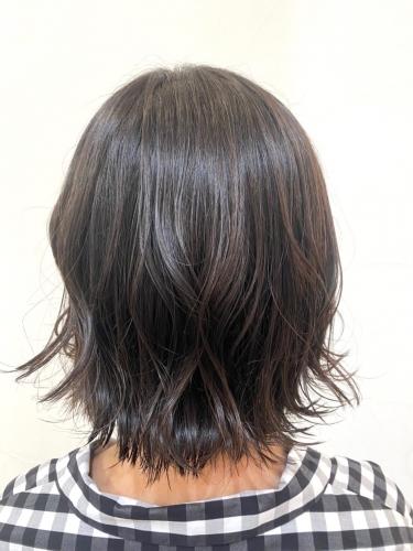 ばっさりイメチェンにも◎外ハネボブ☆高田馬場 美容室 酸熱 髪質改善トリートメント