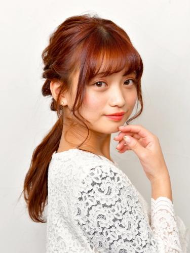 女子力アップのヘアアレンジ☆高田馬場 美容室 酸熱 髪質改善トリートメント